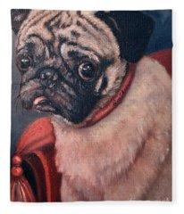 Pugsy Fleece Blanket