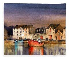 Ramelton Dusk, Donegal. Fleece Blanket
