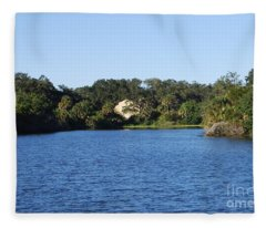Red Bugg Slough Fleece Blanket