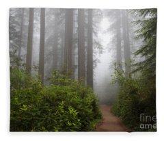 Redwood Grove Fleece Blanket
