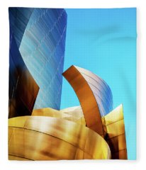 River Of Gold Fleece Blanket