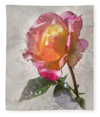 Rosa, 'glowing Peace' Fleece Blanket