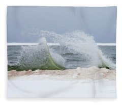 Rough Water Fleece Blanket