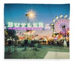 Sacramento State Fair- Fleece Blanket