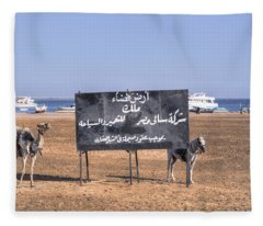 Safaga - Egypt Fleece Blanket
