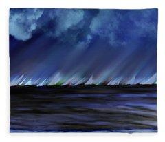 Sailing Fleece Blanket