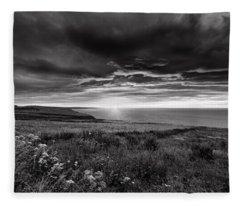 Scottish Sunrise Fleece Blanket