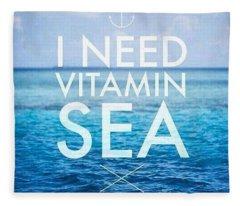 Vitaminsea Fleece Blanket