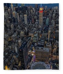 September 11 Nyc Tribute Fleece Blanket