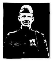Sergeant Alvin York Graphic Fleece Blanket