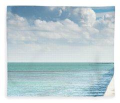 Seven Mile Fishing Fleece Blanket