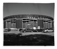 Shea Stadium - New York Mets Fleece Blanket