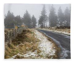 Sheriffmuir Road Fleece Blanket