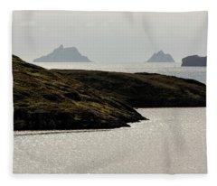 Skellig Islands, County Kerry, Ireland Fleece Blanket