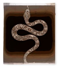 Snake Fleece Blanket