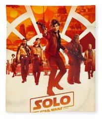 Solo A Star Wars Story Fleece Blanket