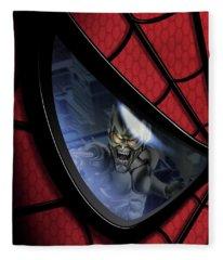 Spider-man 2002 Fleece Blanket