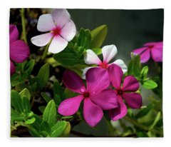 Summer Blossoms Fleece Blanket