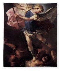 St. Michael Fleece Blanket