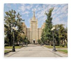 Kudrinskaya Square Fleece Blanket