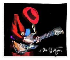 Stevie Ray Vaughan - Texas Flood Fleece Blanket