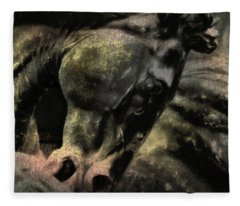 Stone Steed Art Fleece Blanket