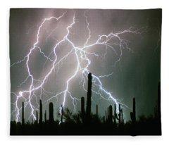Striking Photography Fleece Blanket