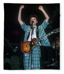 Stuart Adamson Fleece Blanket