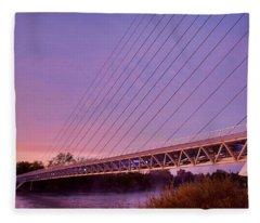 Sundial Bridge Fleece Blanket