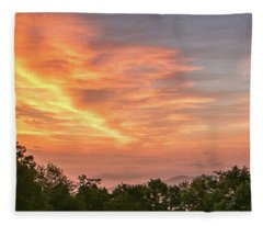 Sunrise July 22 2015 Fleece Blanket