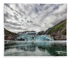Surprise Glacier Fleece Blanket