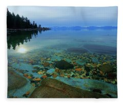 Tahoe Twilight Fleece Blanket