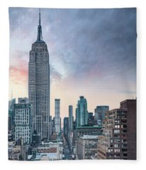 Take It To The Top Fleece Blanket
