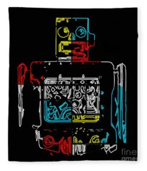 Take Me To Your Leader Fleece Blanket