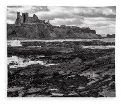 Tantallon Castle Fleece Blanket