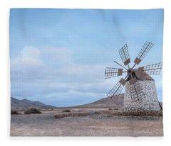 Tefia - Fuerteventura Fleece Blanket