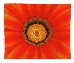 The Beauty Of Orange Fleece Blanket
