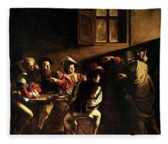 The Calling Of St. Matthew Fleece Blanket