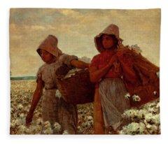 The Cotton Pickers Fleece Blanket