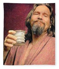 The Dude Fleece Blanket