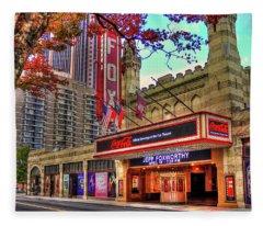 The Fabulous Fox Theatre Atlanta Georgia Art Fleece Blanket