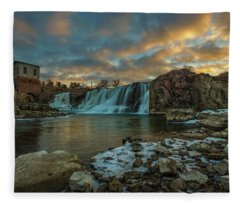 The Falls  Fleece Blanket