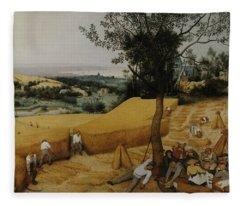 The Harvesters Fleece Blanket