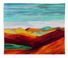 The Hills Are Alive Fleece Blanket