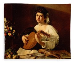 The Lute-player Fleece Blanket