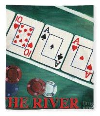 The River Fleece Blanket