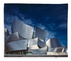 The Walt Disney Concert Hall Fleece Blanket