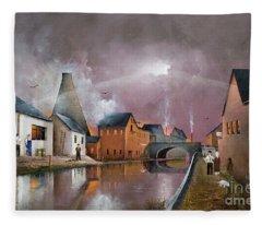 The Wordsley Cone Fleece Blanket