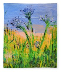 Thistles One Fleece Blanket