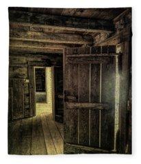 Tipton Cabin Fleece Blanket